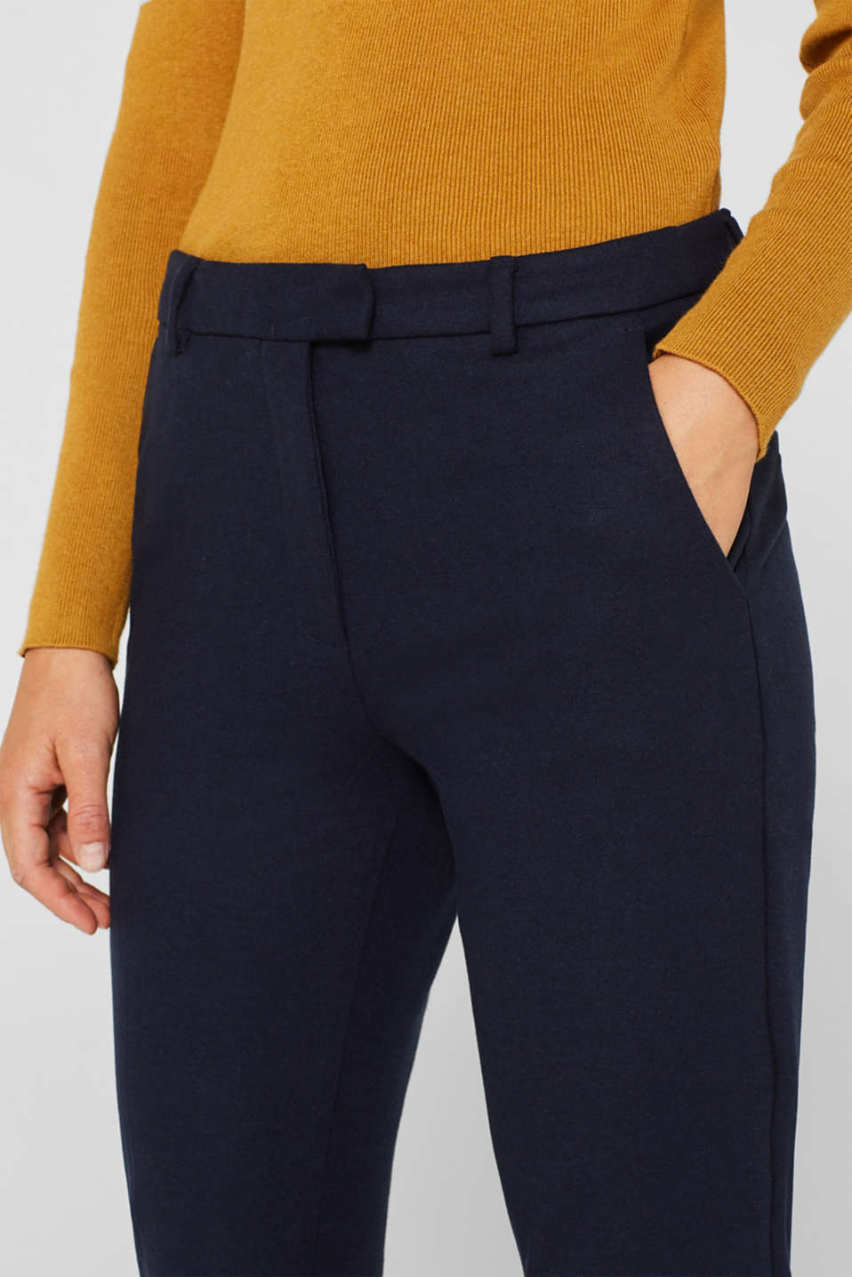 Pants woven, NAVY, detail image number 2