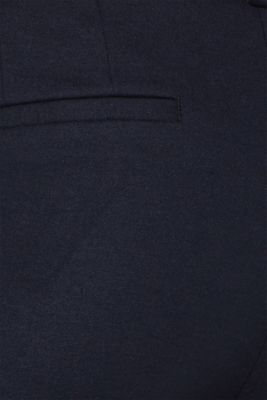 Tracksuit bottoms made of stretch flannel