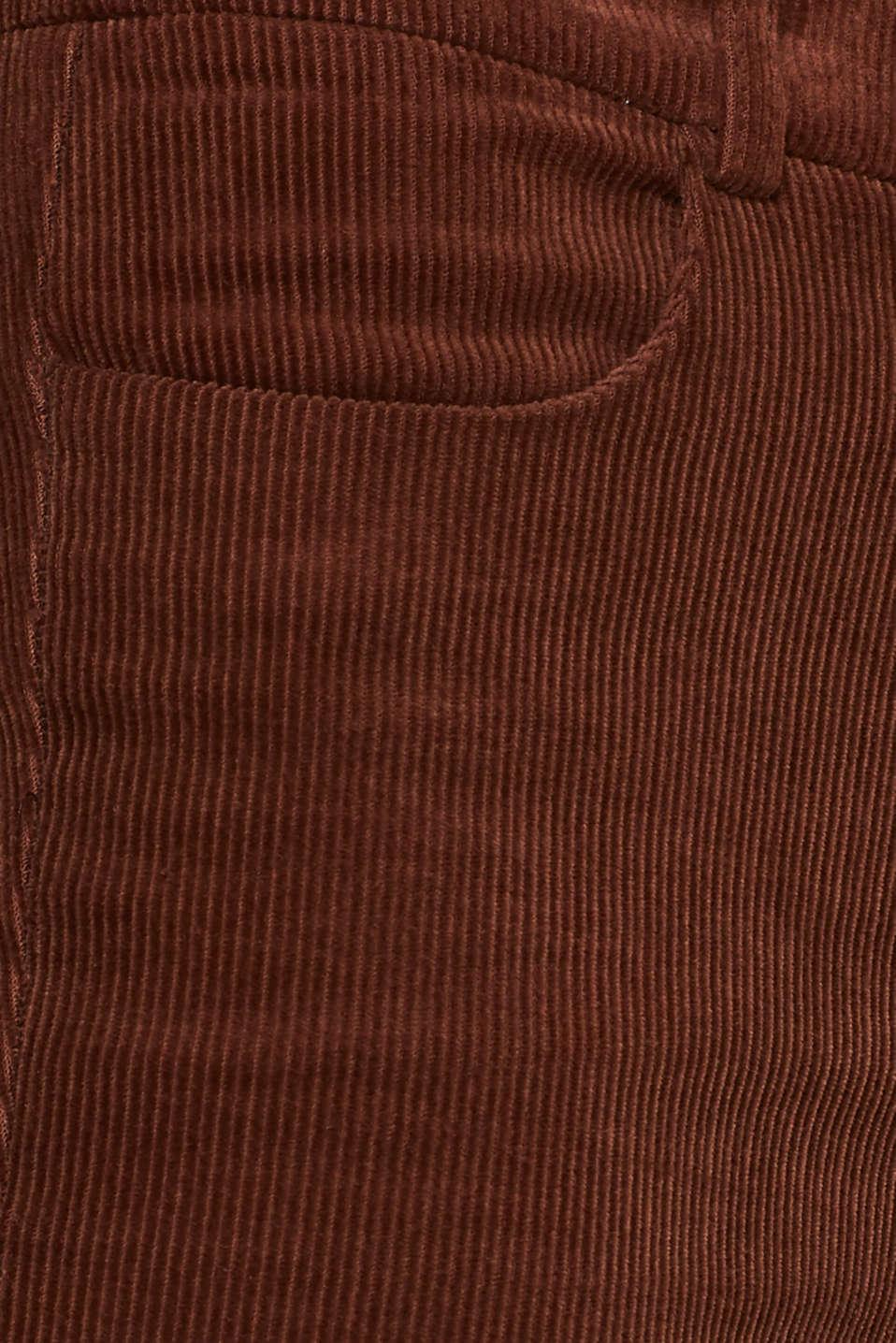 Pants woven, DARK BROWN, detail image number 4