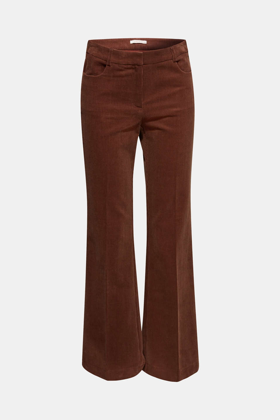 Pants woven, DARK BROWN, detail image number 7
