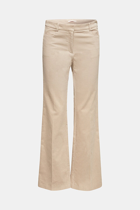 CORD mix + match bootcut trousers
