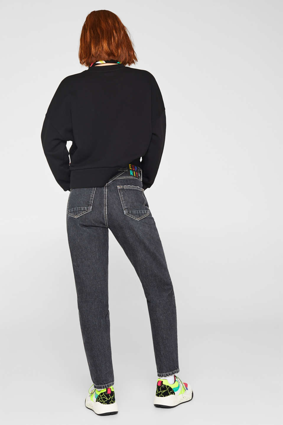 Esprit - #throwback jeans made of 100% cotton