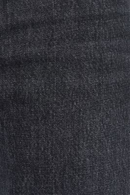 #throwback jeans made of 100% cotton, BLACK MEDIUM WASH, detail