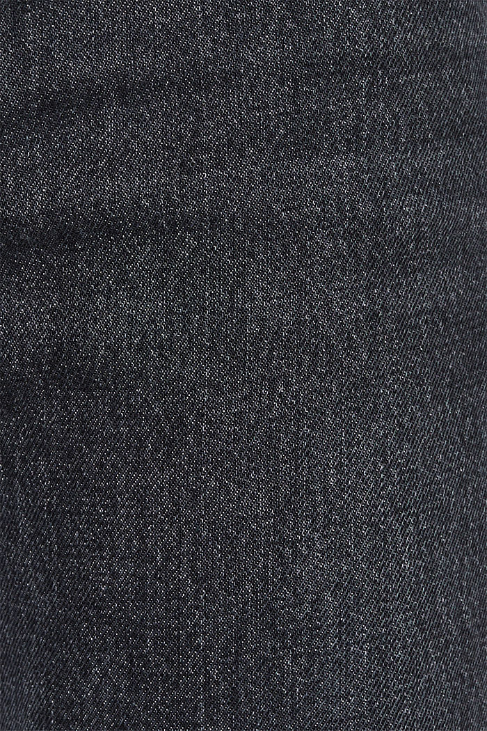 #throwback jeans made of 100% cotton, BLACK MEDIUM WASHED, detail image number 5
