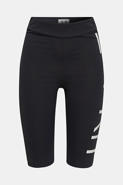 #throwback stretch trousers with a logo, 100% cotton