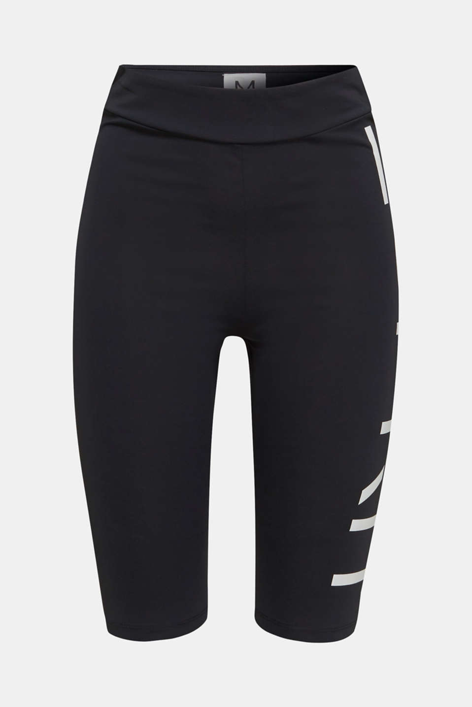 #throwback stretch trousers with a logo, 100% cotton, BLACK, detail image number 6