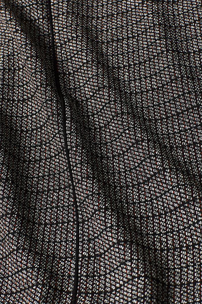 Stretch jersey mini skirt, BLACK, detail image number 4