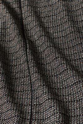 Stretch jersey mini skirt, BLACK, detail