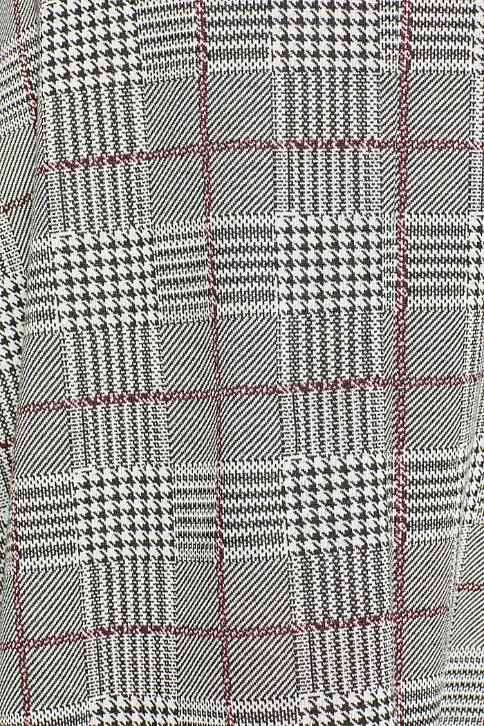 Flared stretch jersey skirt, GARNET RED, detail image number 3