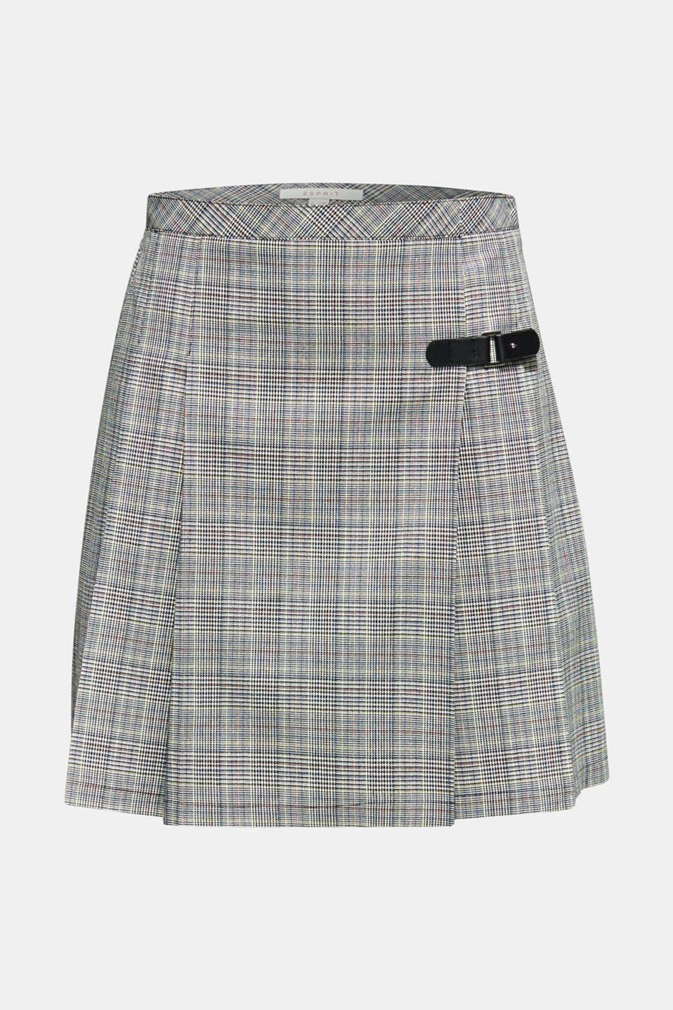 Skirts light woven, BLACK, detail image number 6