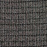 Stretch jersey dress with a jacquard check pattern, BLACK, swatch