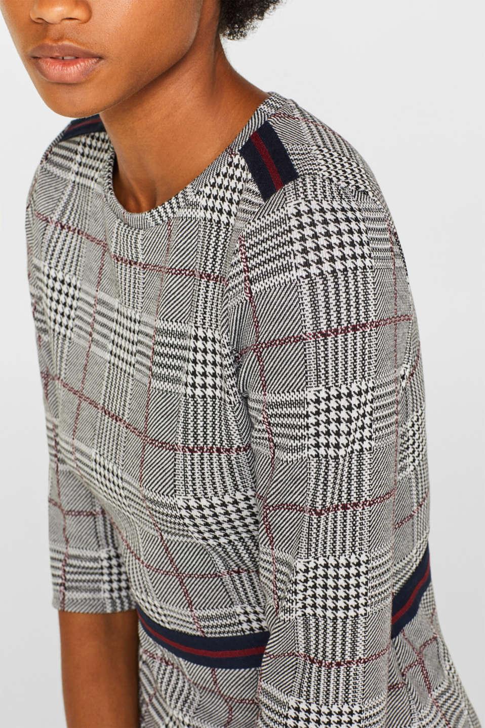 Dresses knitted, GARNET RED, detail image number 3