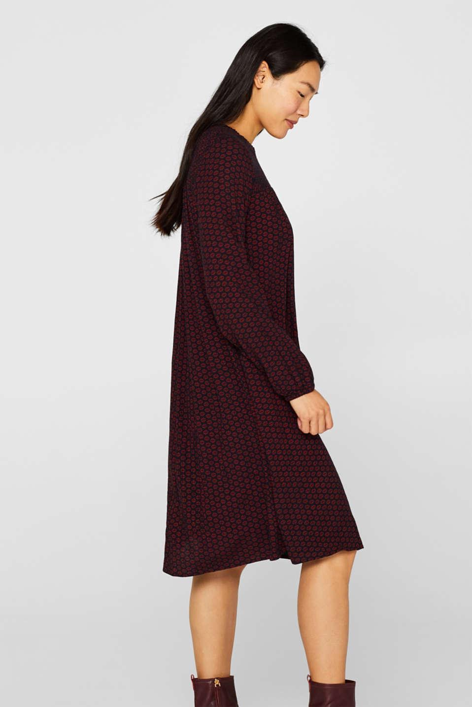 Dresses light woven, GARNET RED, detail image number 5