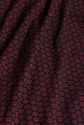 Patterned crinkle dress