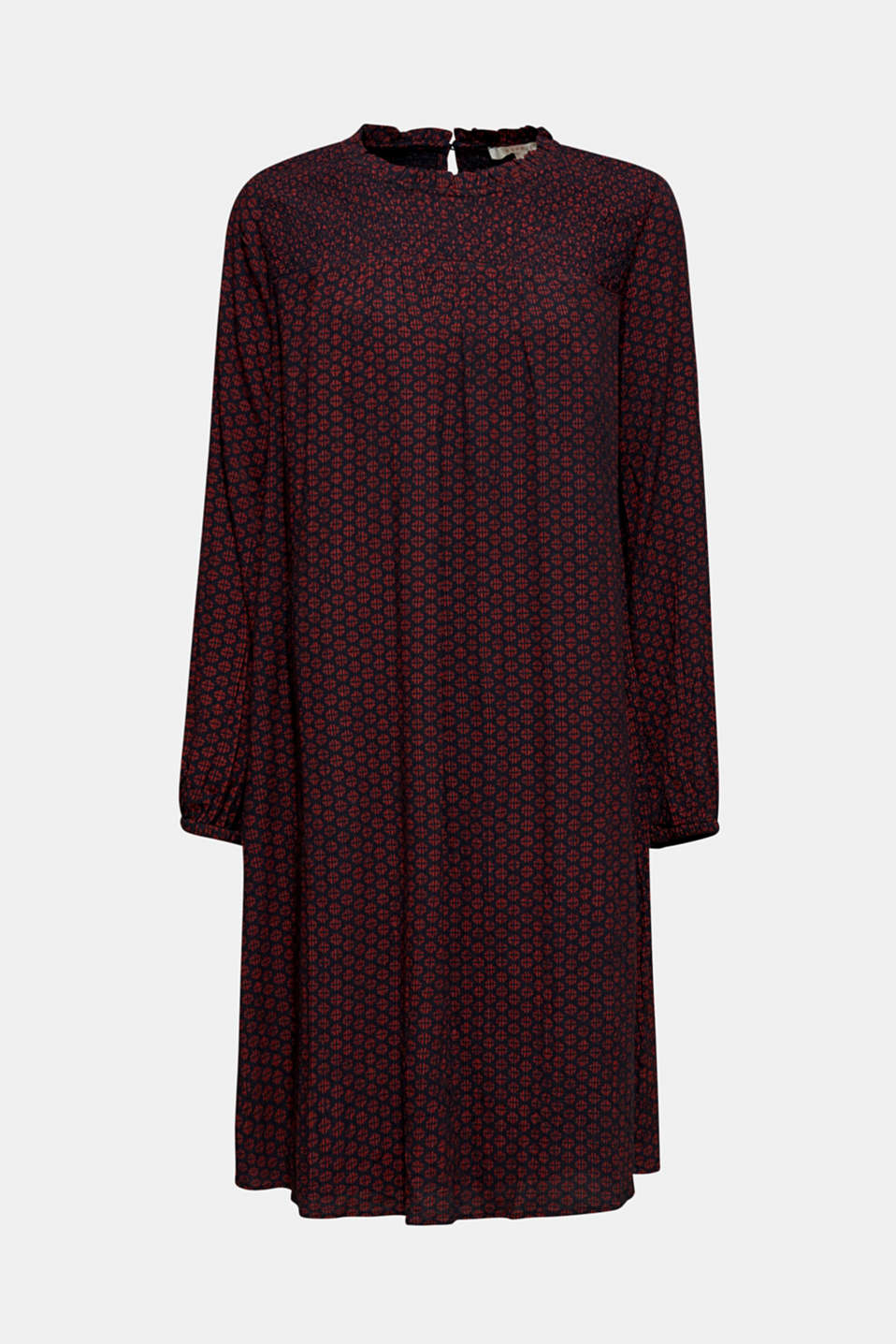 Dresses light woven, GARNET RED, detail image number 7