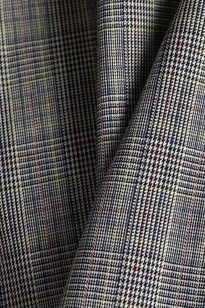 Etui-Kleid mit Glenchecks, BLACK, detail image number 4