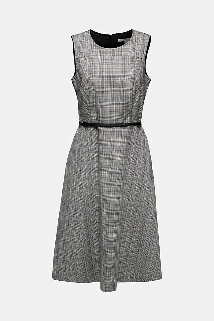 Etui-Kleid mit Glenchecks, BLACK, detail image number 5