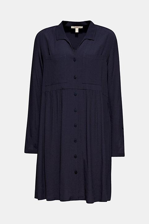 Fully flared smock dress