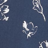 Print blouse with a Henley neckline, NAVY 2, swatch
