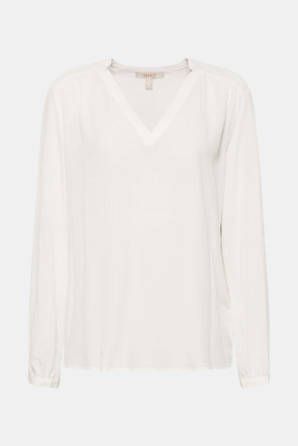 Blouses woven, OFF WHITE, detail image number 4