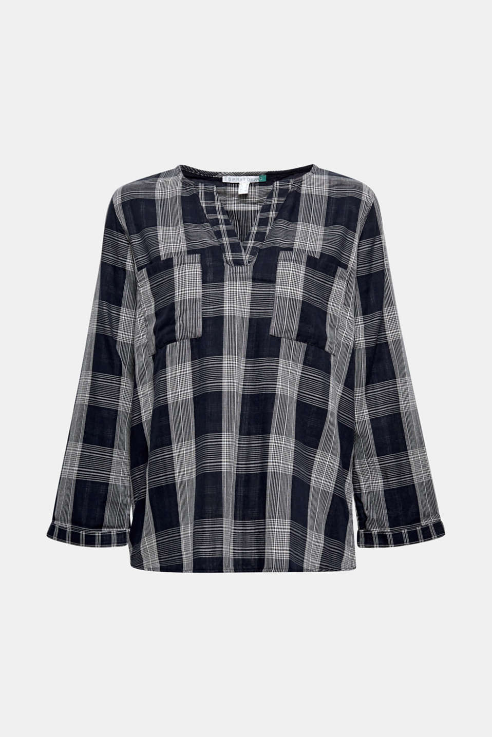 Esprit - Tuniekblouse met organic cotton
