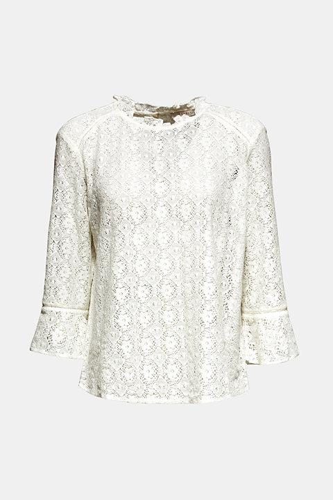 Delicate lace blouse