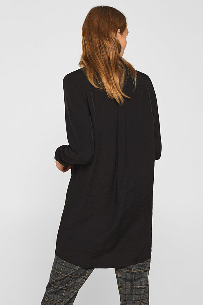 Long sleeve blouse with print, BLACK, detail image number 3