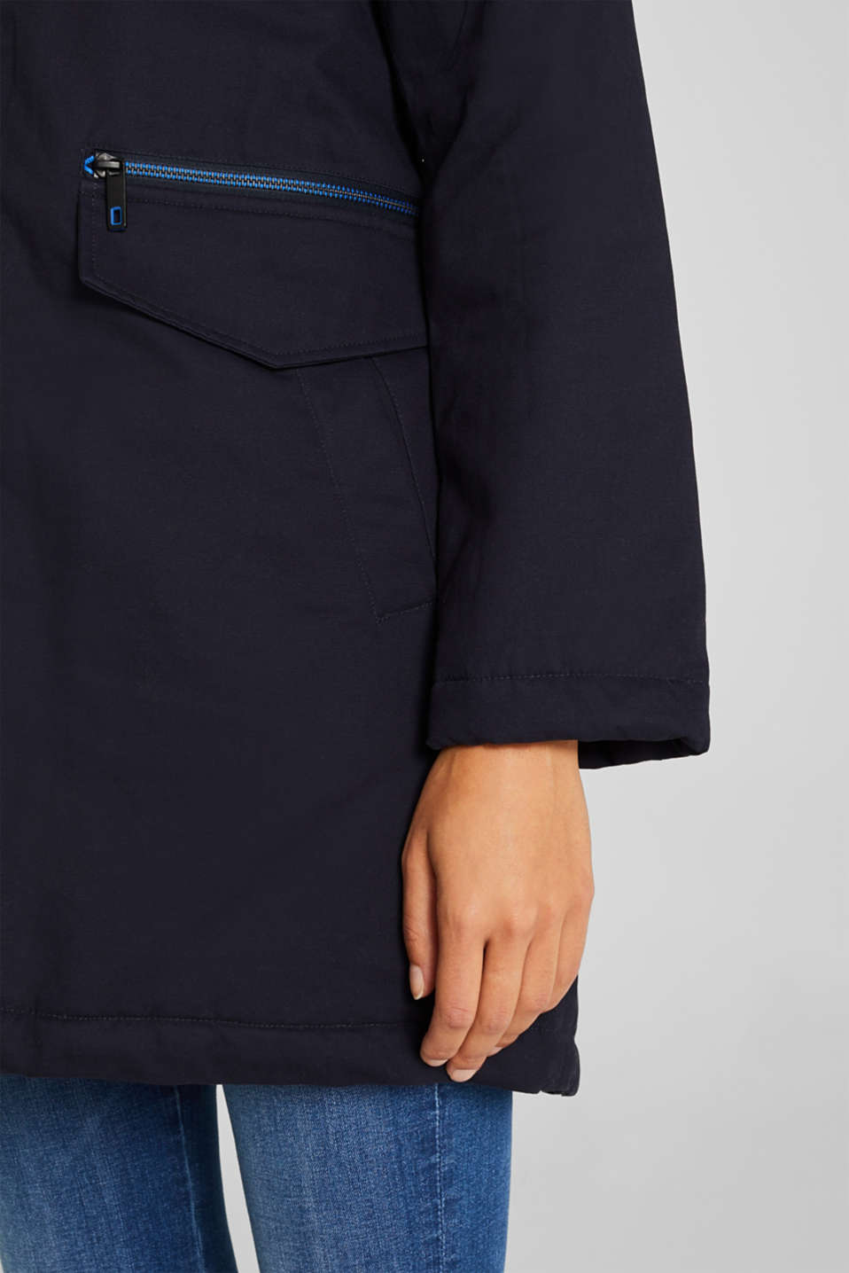 Jacket with 3M® Thinsulate padding, NAVY, detail image number 2