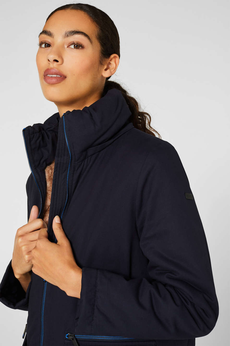 Jacket with 3M® Thinsulate padding, NAVY, detail image number 6