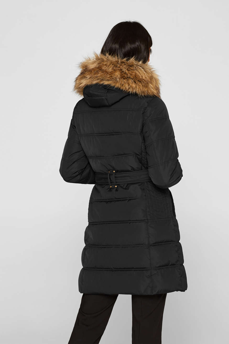Coat with 3M™ Thinsulate™ filling, BLACK, detail image number 3
