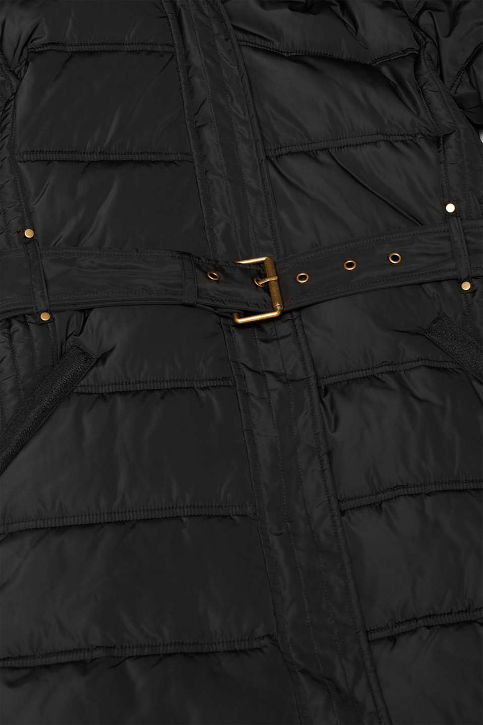 Coat with 3M™ Thinsulate™ filling, BLACK, detail image number 4