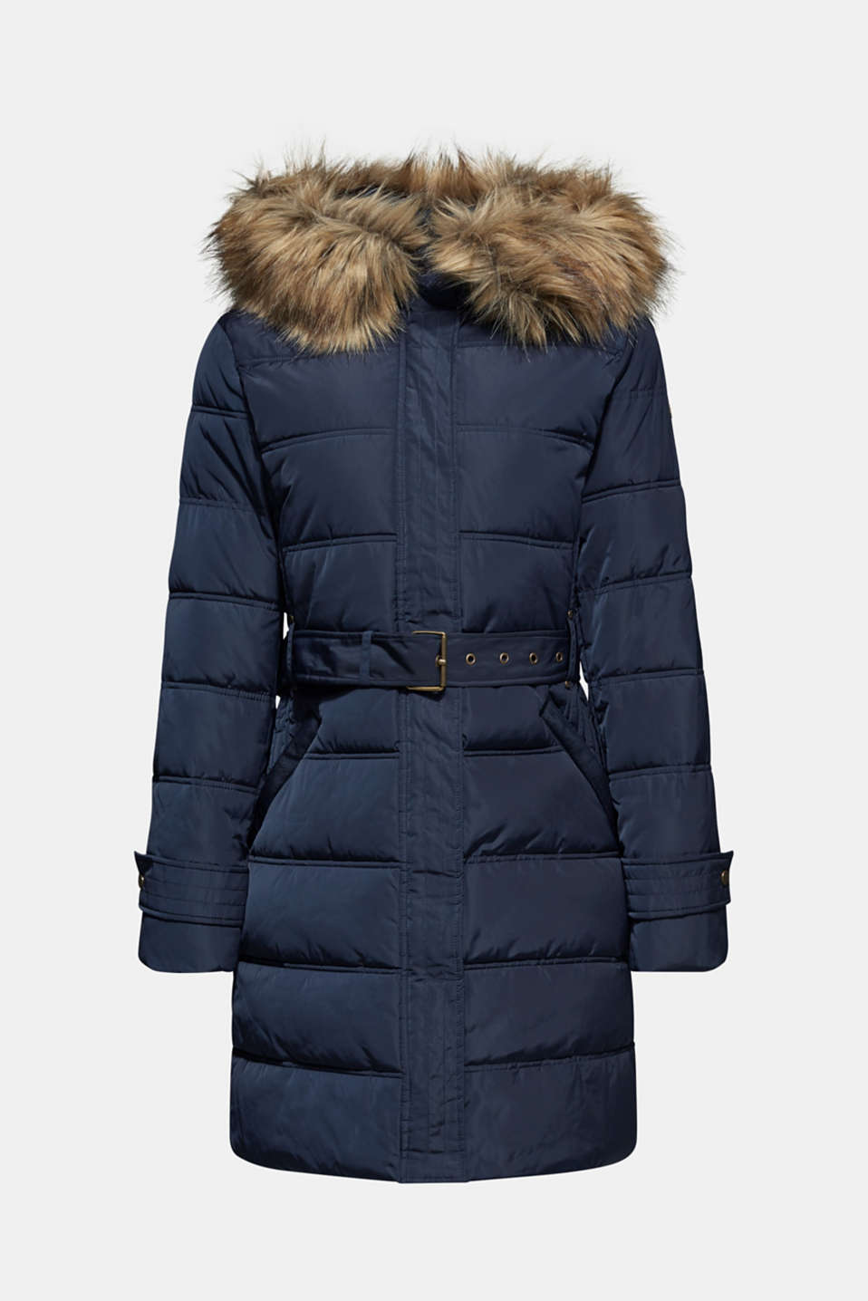 Quilted coat with 3M™ Thinsulate™ filling, NAVY, detail image number 6