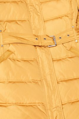 Quilted coat with 3M™ Thinsulate™ filling, AMBER YELLOW, detail