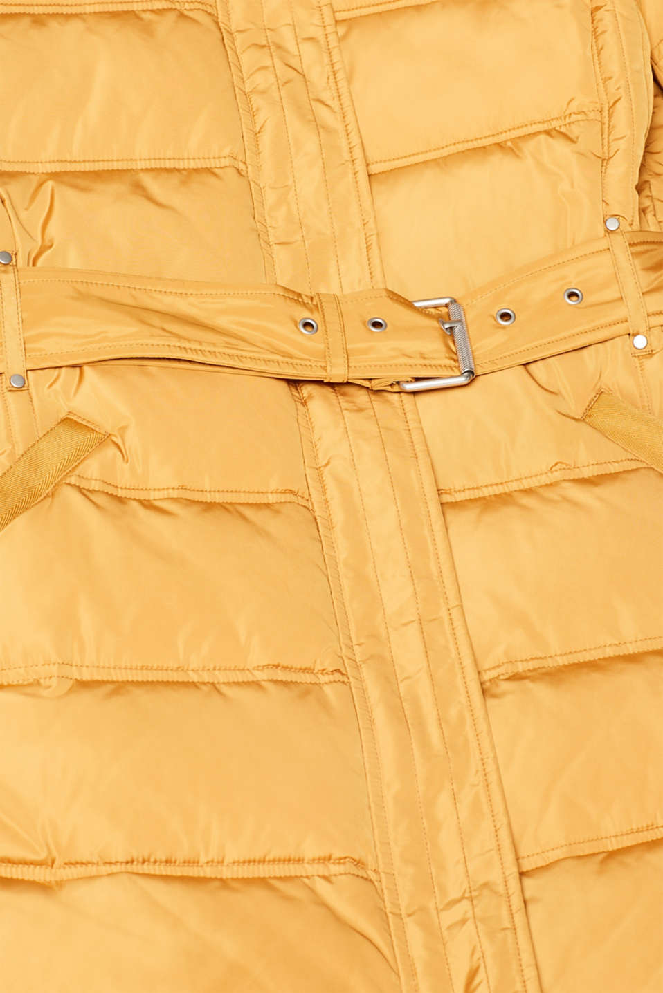 Quilted coat with 3M™ Thinsulate™ filling, AMBER YELLOW, detail image number 4