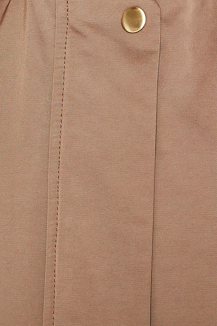 Nylon parka with 3M™ Thinsulate™ padding, BROWN, detail image number 4