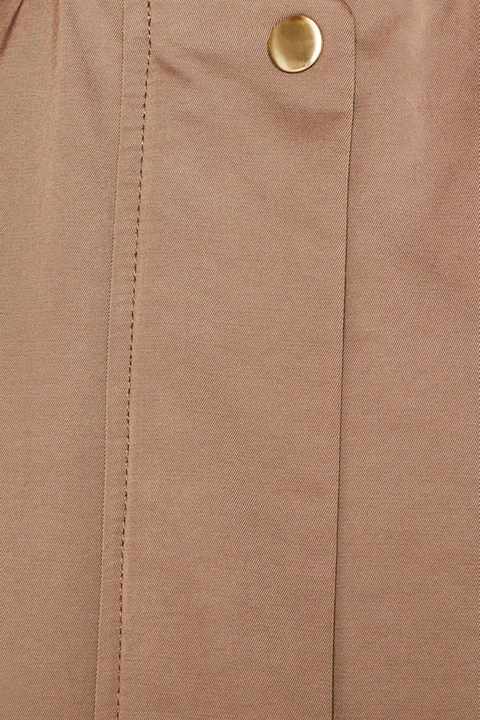 Coats woven, BROWN, detail image number 4