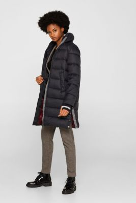 Quilted coat with 3M™ Thinsulate™ padding, BLACK, detail