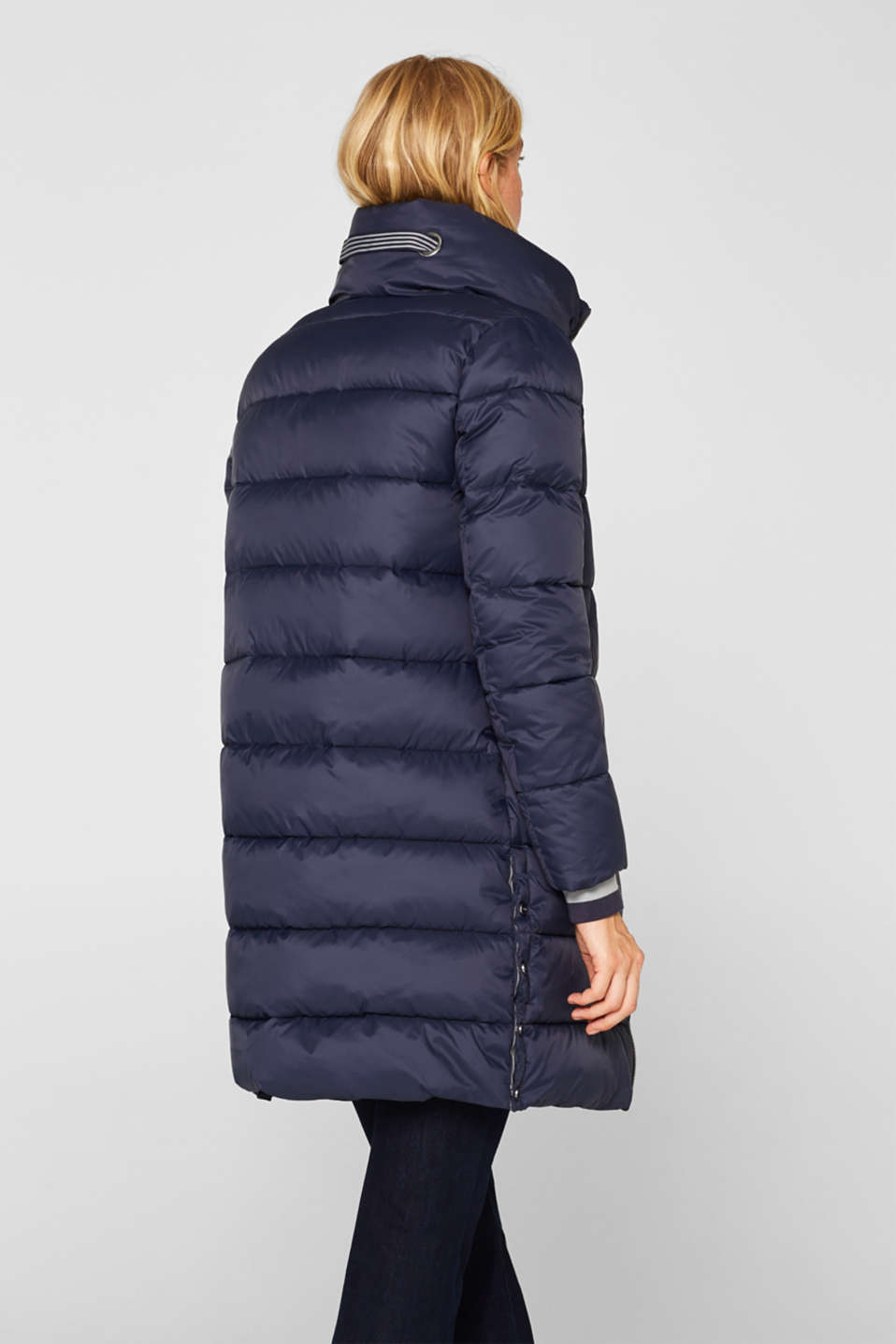 Quilted coat with 3M™ Thinsulate™ padding, NAVY, detail image number 3