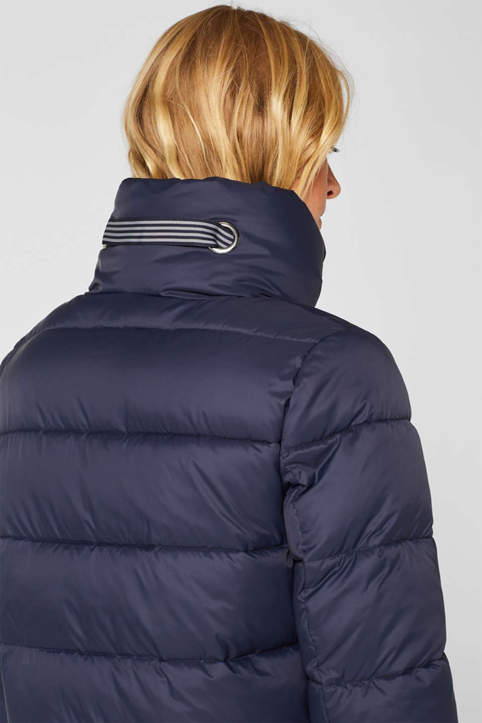 Quilted coat with 3M™ Thinsulate™ padding, NAVY, detail image number 2