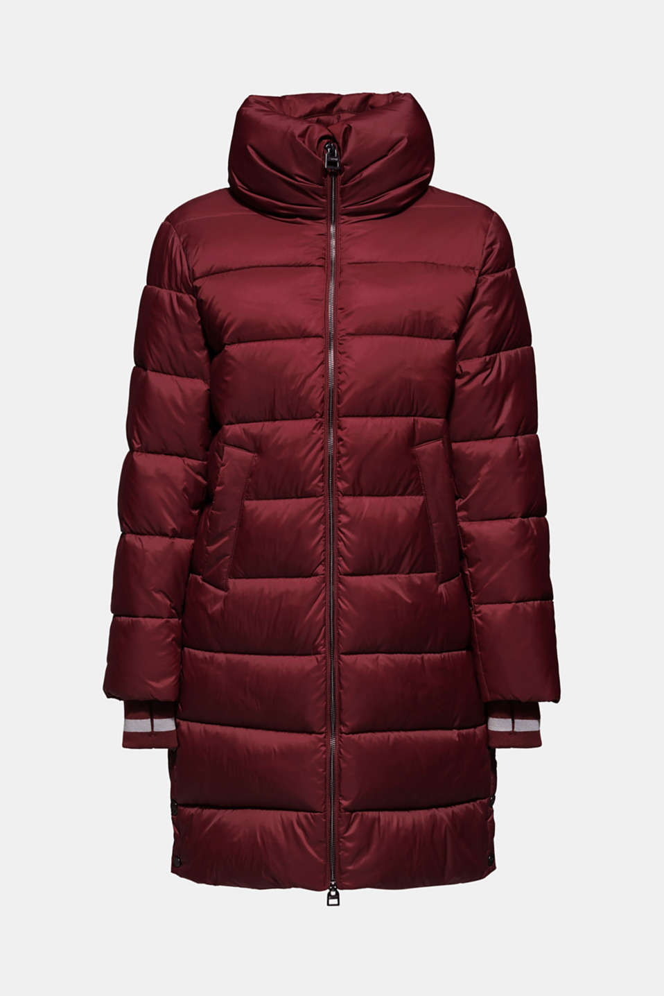 Quilted coat with 3M™ Thinsulate™ padding, BORDEAUX RED, detail image number 7