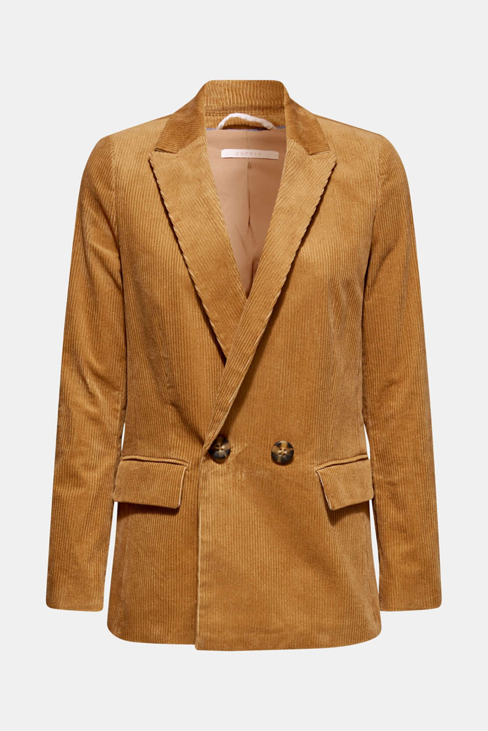 Esprit - CORD Mix + Match Blazer doppiopetto
