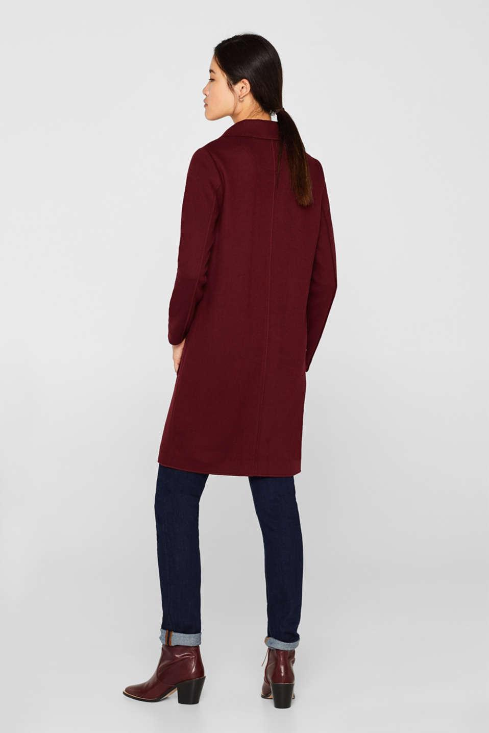Coats woven, GARNET RED, detail image number 3