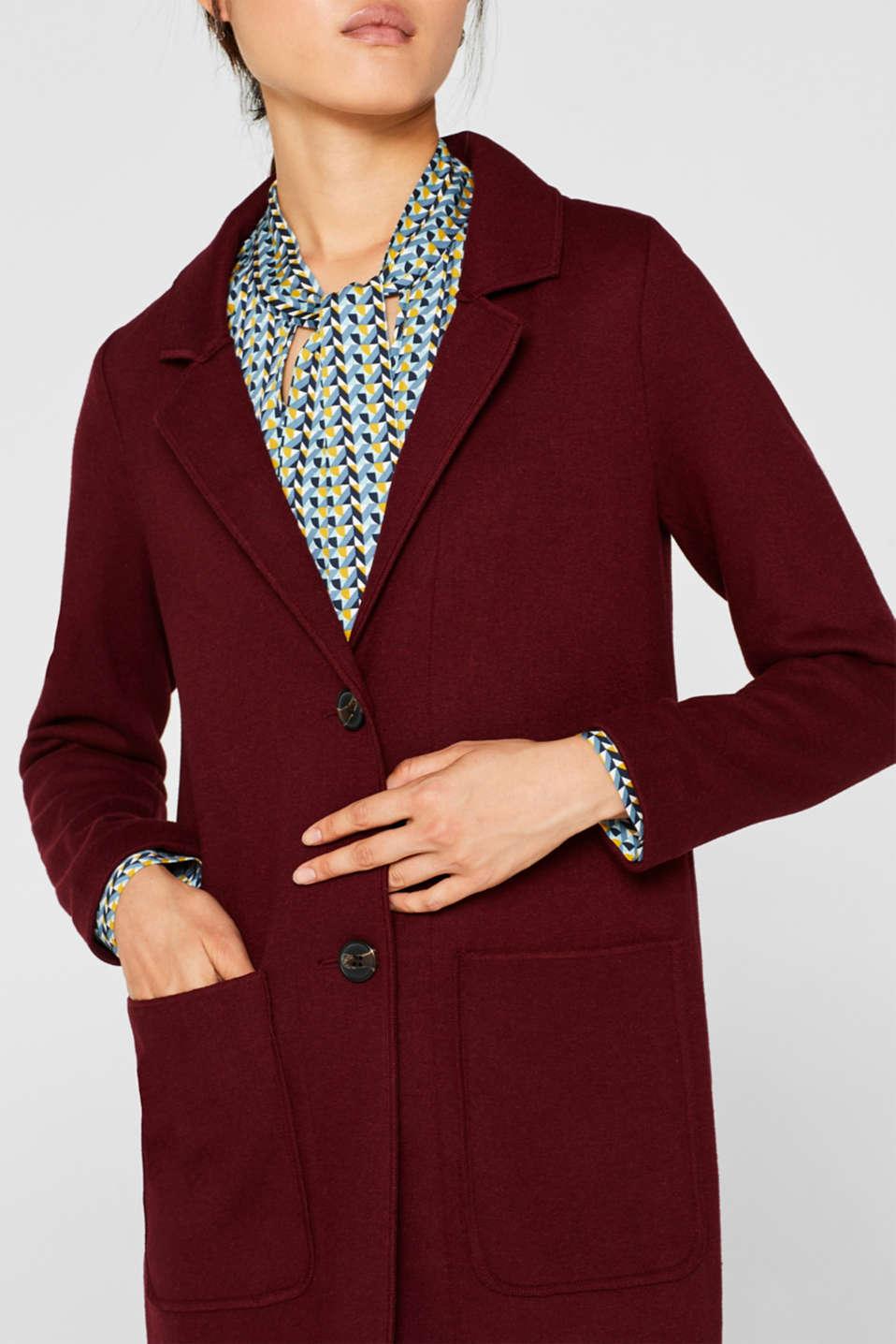 Coats woven, GARNET RED, detail image number 2