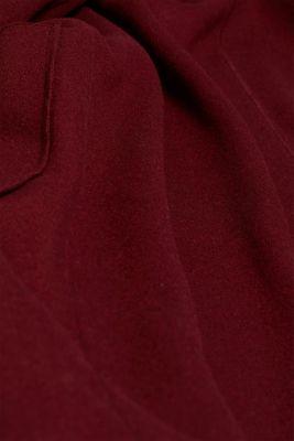 Unlined wool blend coat