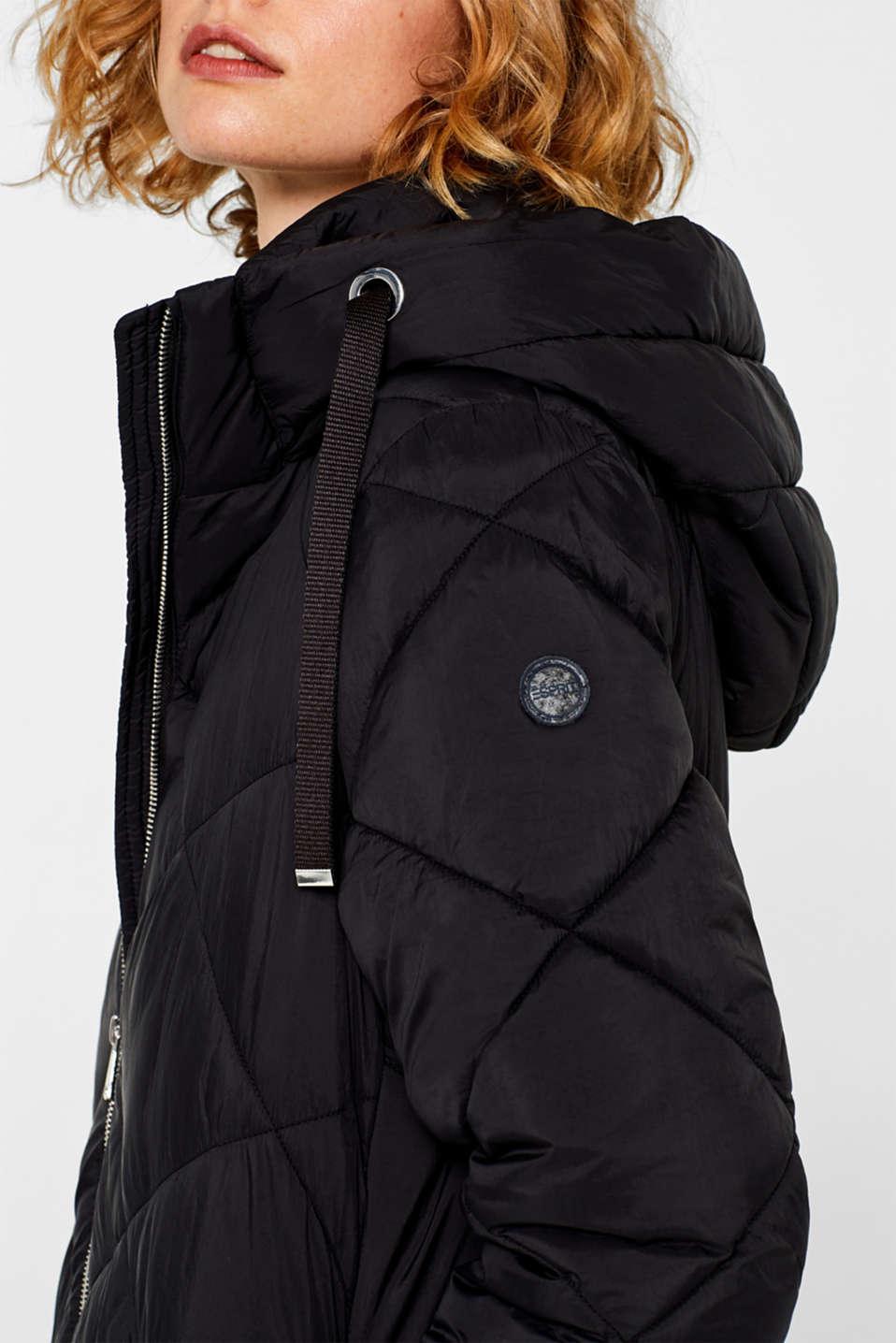 Coats woven, BLACK, detail image number 2