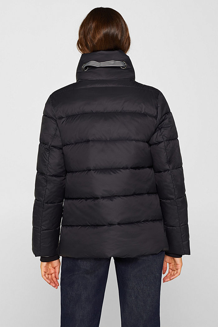 Quilted jacket with 3M® Thinsulate filling, BLACK, detail image number 3