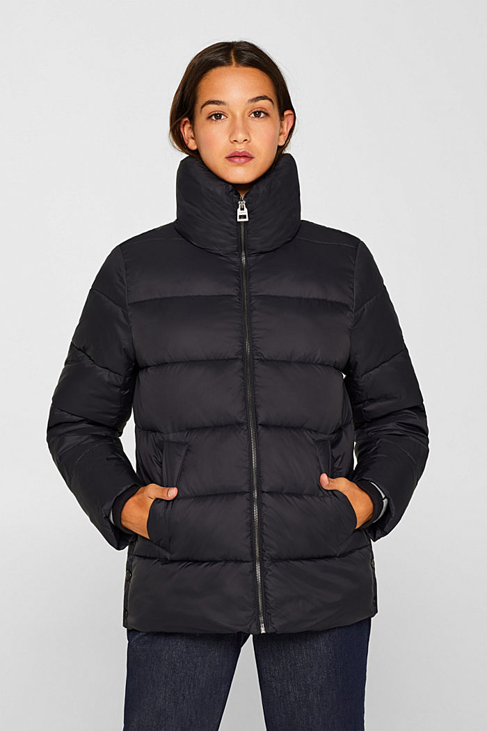 Quilted jacket with 3M® Thinsulate filling, BLACK, detail image number 5