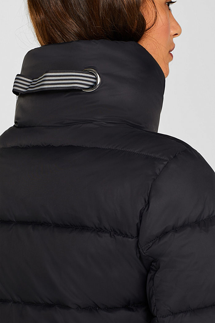 Quilted jacket with 3M® Thinsulate filling, BLACK, detail image number 2