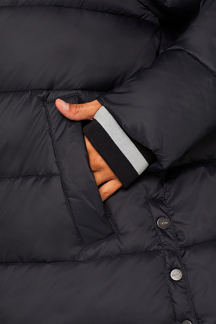 Quilted jacket with 3M® Thinsulate filling, BLACK, detail image number 6