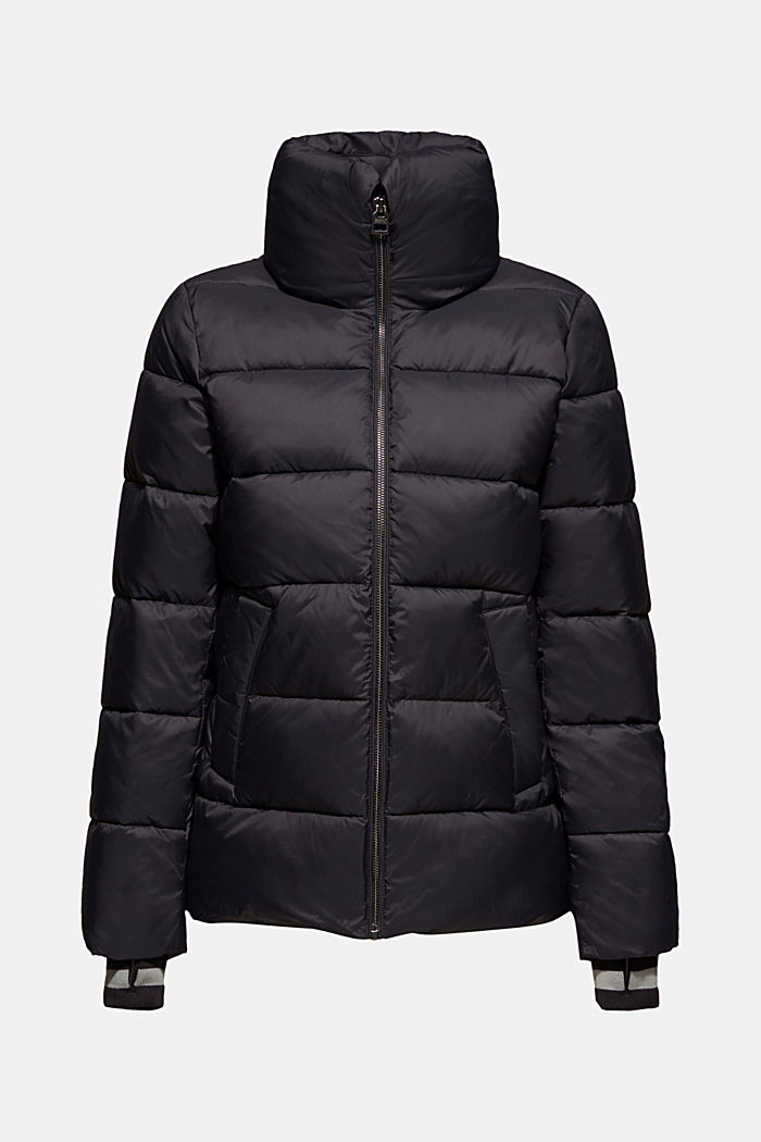 Quilted jacket with 3M® Thinsulate filling, BLACK, detail image number 9